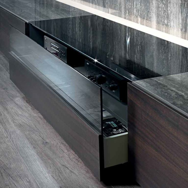 contemporary tv wall unit / lacquered wood - n.c. base - acerbis, Attraktive mobel