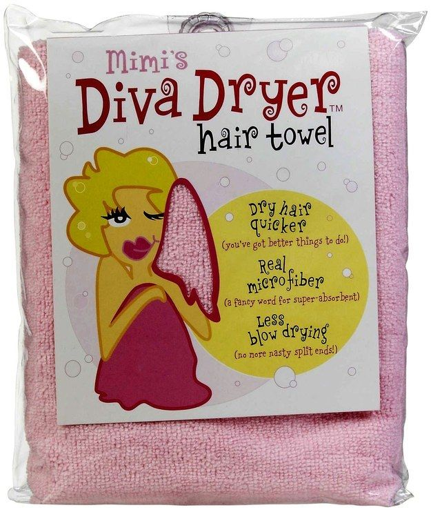 Mimi's Diva Dryer Hair Towel | 13 Amazing Products For Curly Hair And How To Use Them