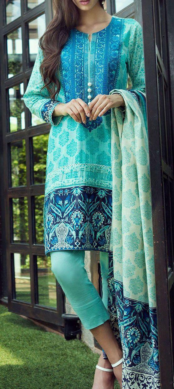 Buy Aqua/Blue Embroidered Khaddar Salwar Kameez by Bonanza 2015 Call: (702) 751-3523 Email: Info@PakRobe.com www.pakrobe.com https://www.pakrobe.com/Women/Clothing/Buy-Winter-Salwar-Kameez-Online #Winter_Salwar_kameez