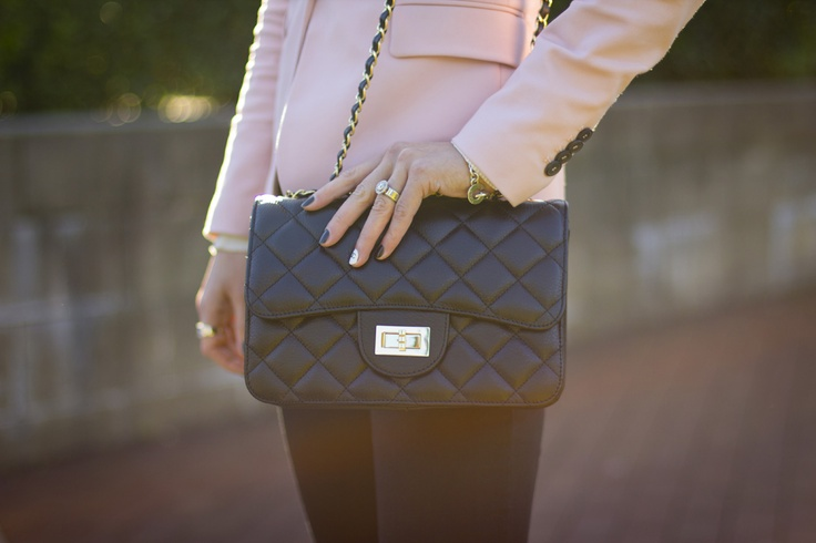 Chanel quilted flap over bag: Style, Outfit