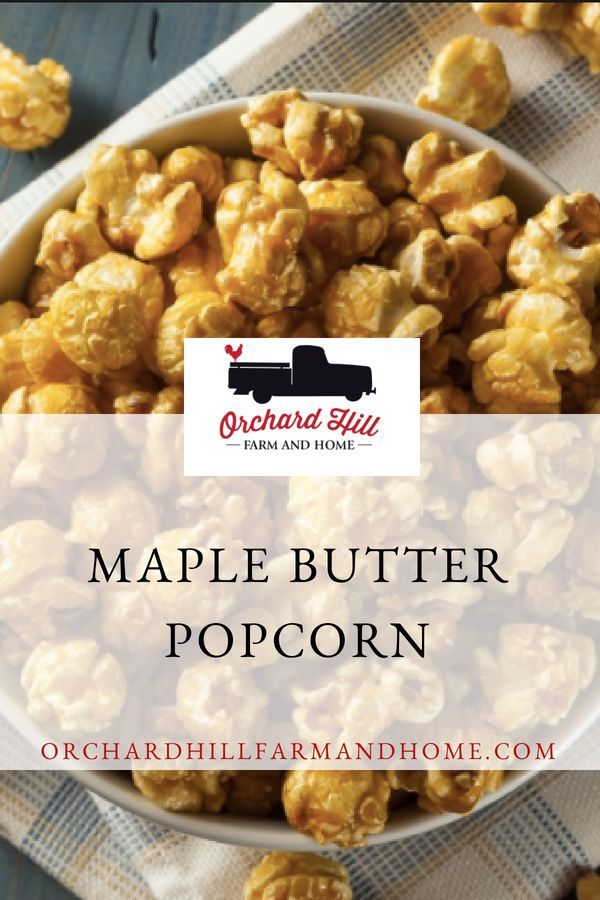 Learn how to make this homemade Salted Maple Butter popcorn recipe made with pure New Hampshire maple syrup. It would make a great hostess, housewarming, ...