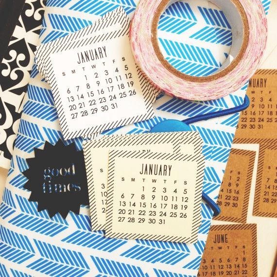 2013 MINI calendars