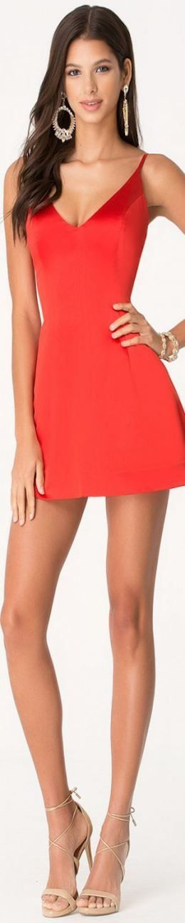 26 Trendy dress tight red outfit 2