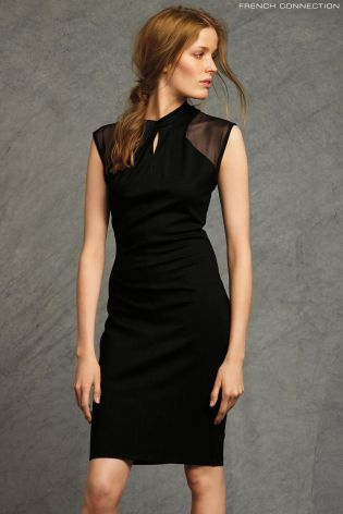 Buy French Connection Black Cap Sleeve Dress online today at Next: Rep. of Ireland