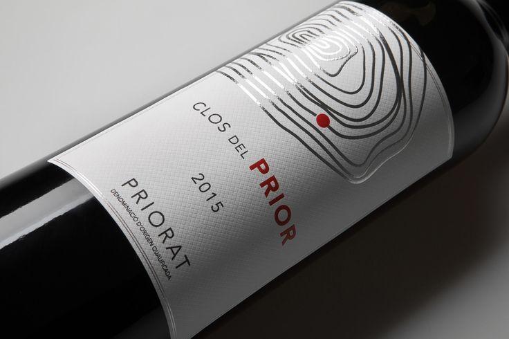 Etiqueta Clos del Prior. Cliente: Vinis Catalonia