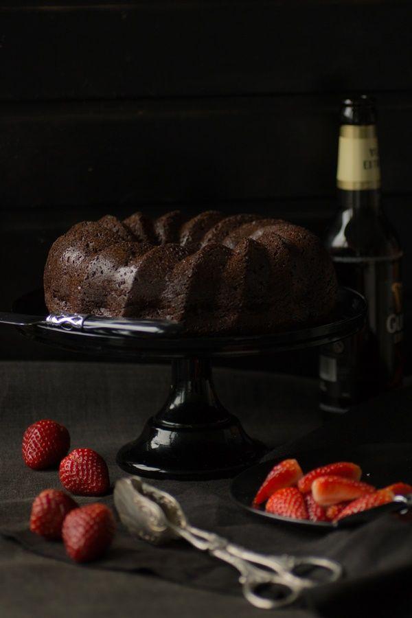 Guinness-Schokoladenkuchen …… super saftig!