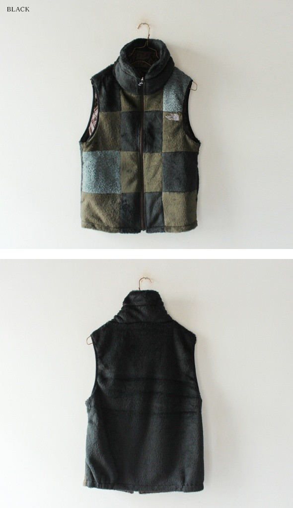 North Face Purple Label - reversible fleece vest.