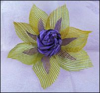 NZ flax weaving blog » Blog Archive » Netted flax flowers