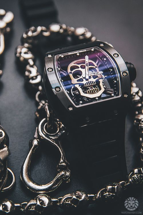 Richard Mille Skull Tourbillon by Chronopassion. More of our footage at WatchAnish.com.
