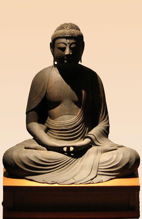Amida, Buddha of Infinite Light Japan - Heian Period - 12th Century