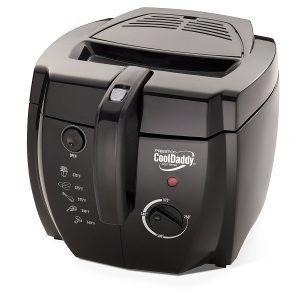 3. Presto 05442 CoolDaddy Cool-touch Deep Fryer