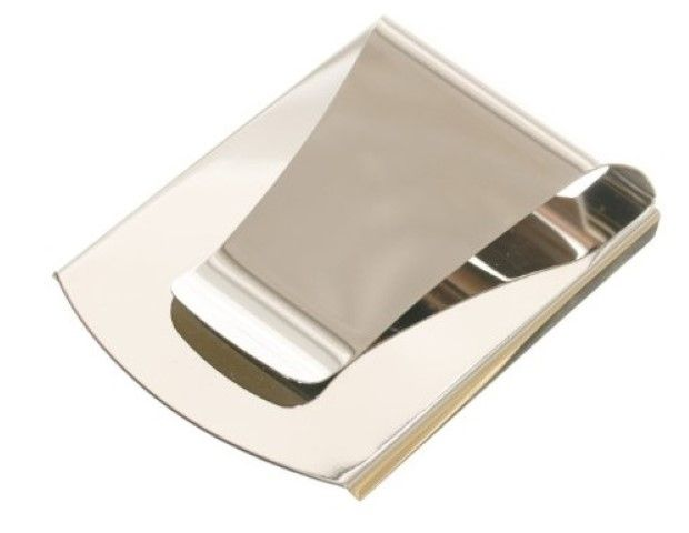 Slim down your wallet with this double sided money clip. Made from stainless steel which is hard and tough. #Wallet #Money Clips