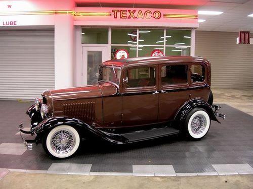 1932 Ford All Steel Sedan.