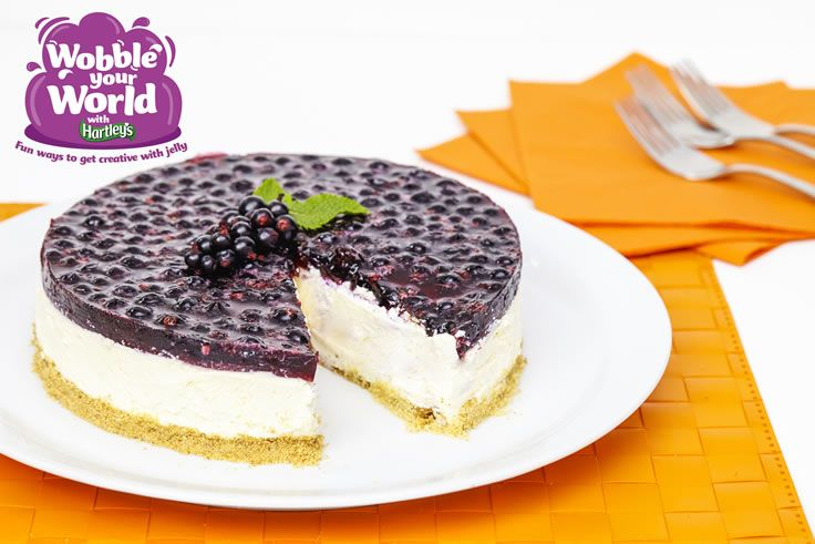 Blackcurrant Jelly Cheesecake Recipe