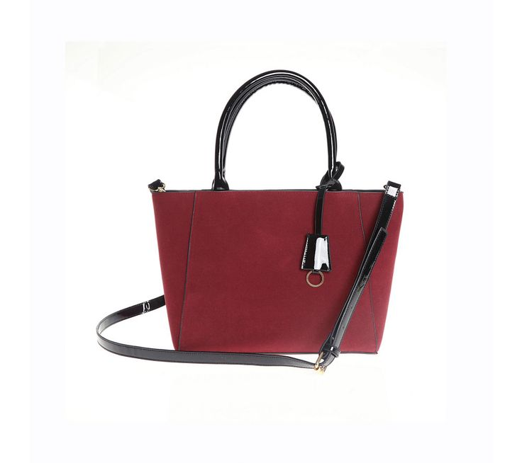 Dvoubarevná kabelka s odnímatelným řemínkem | modino.cz #modino_cz #modino_style #style #fashion #acessories #doplnky