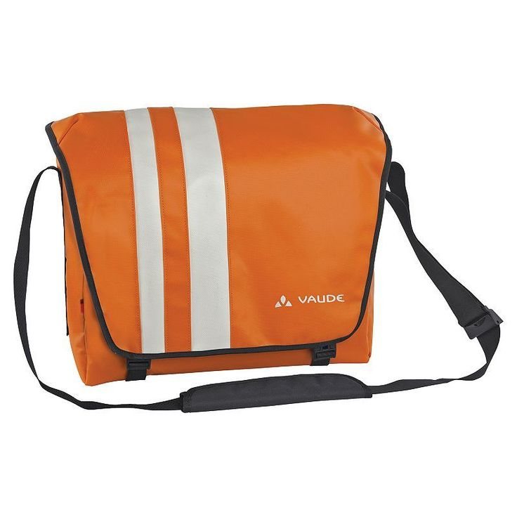 Vaude Albert 15.6-inch Laptop Messenger Bag, Orange