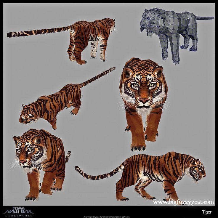 ArtStation - Tomb Raider Underworld Wii, Aaron Gaines