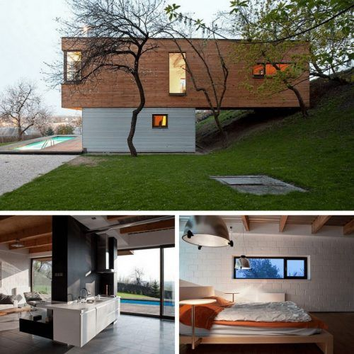 257 best all dwell boxes images on pinterest container homes container houses and little houses - Appalachian container cabin ...
