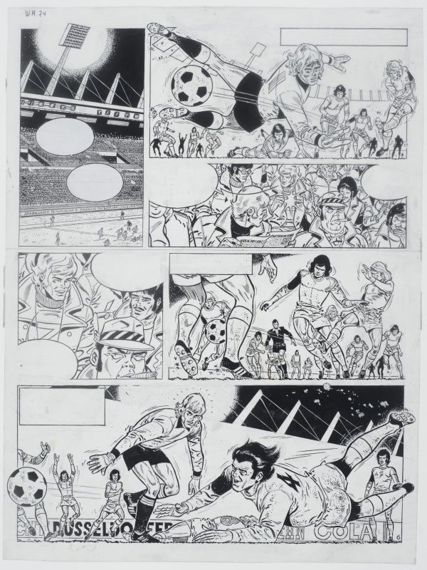 Eric Castel - T.0 - planche 6 by Raymond Reding - Comic Strip