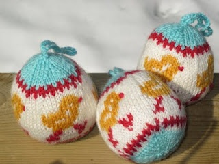 Arne & Carlos Knitted Easter 'Baubles'