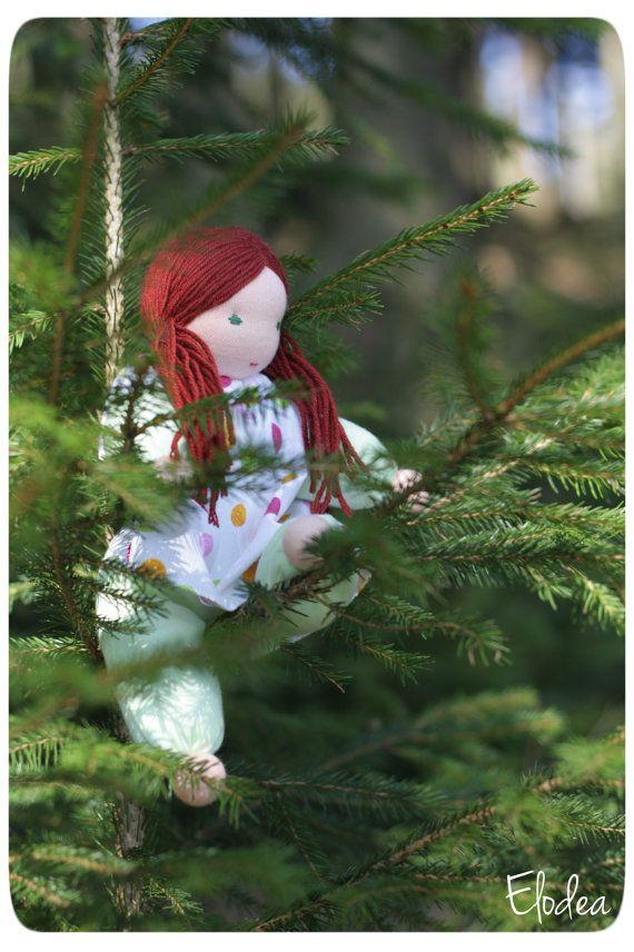 Brigit  organic cotton doll  waldorf toy  10 by ElodeaToys on Etsy