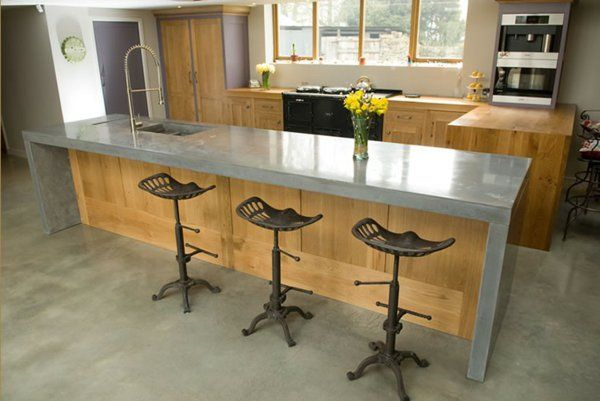Arbeitsplatte Betonoptik küchenarbeitsplatten küchenplatte holz
