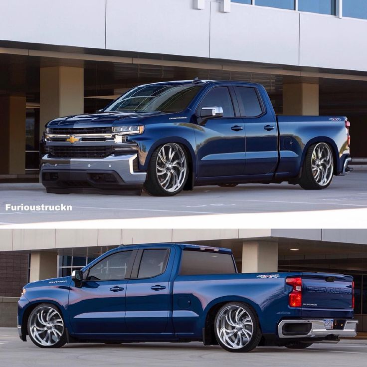 Chevy Silverado crew cab.. #2019silverado #lowered #trucks ...