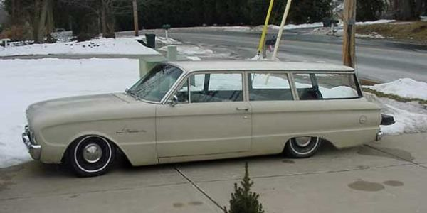 ford Falcon | Lowered 1961 Falcon 2 Door Wagon