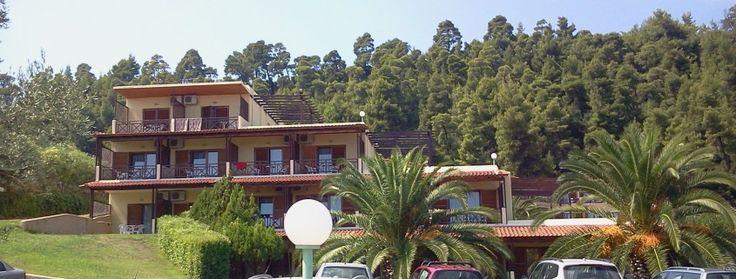 gorgeus vegetation surrounding the hotel