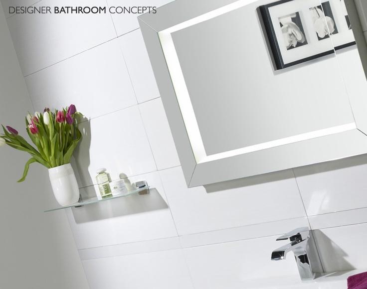 Sense Designer Illuminated Bathroom Mirror