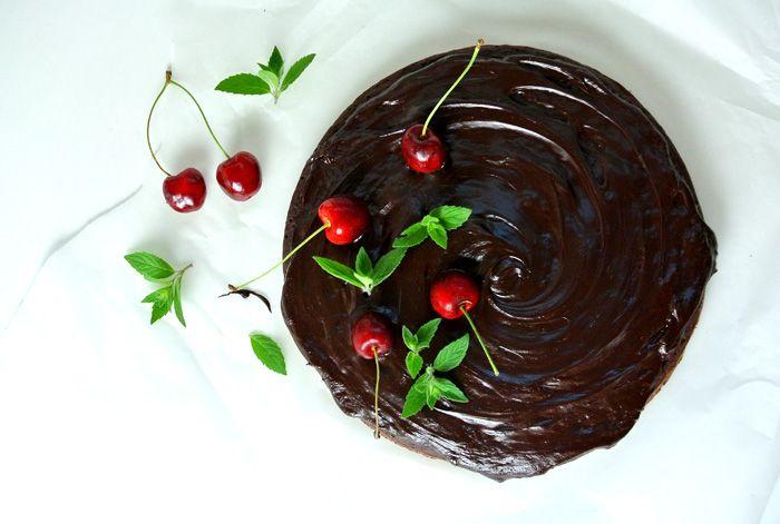 Stylowo i Zdrowo: Fit brownie bez cukru z czerwonej fasoli