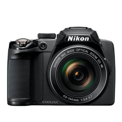 Nikon COOLPIX P500 12.1 CMOS Digital Camera with 36x NIKKOR Wide-Angle Optical Zoom Lens and Full HD 1080p Video...