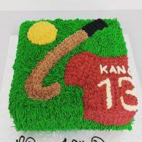 Hockey Themed Cake