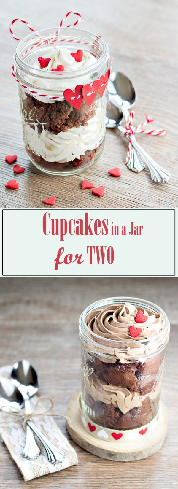 Cupcakes in a Jar for Two!
