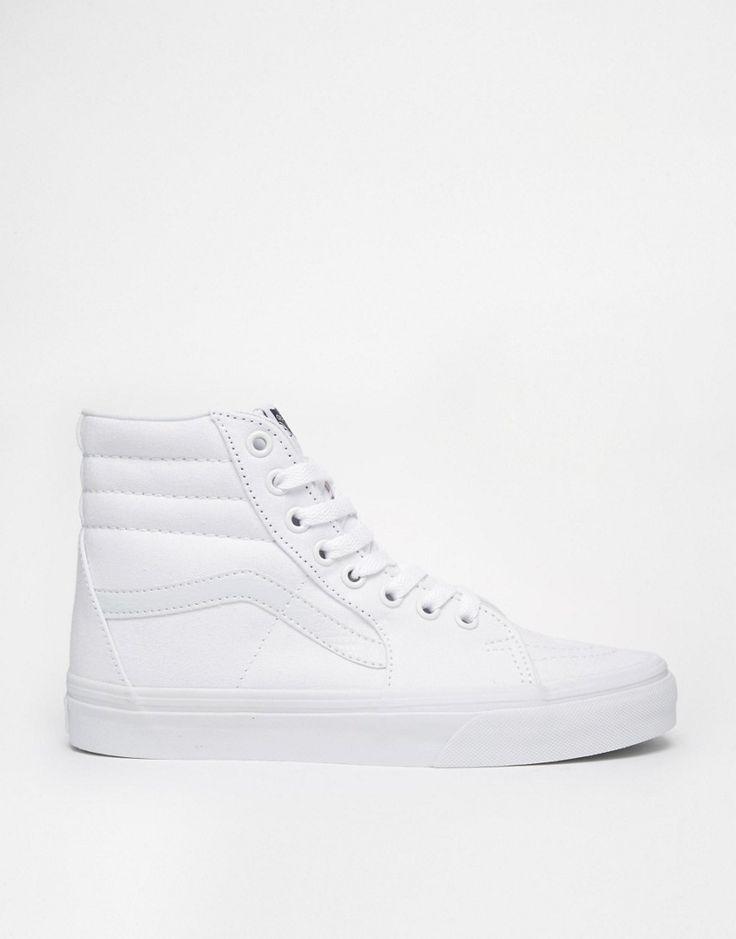 Immagine 2 di Vans - SK8 - Scarpe da ginnastica alte bianco puro