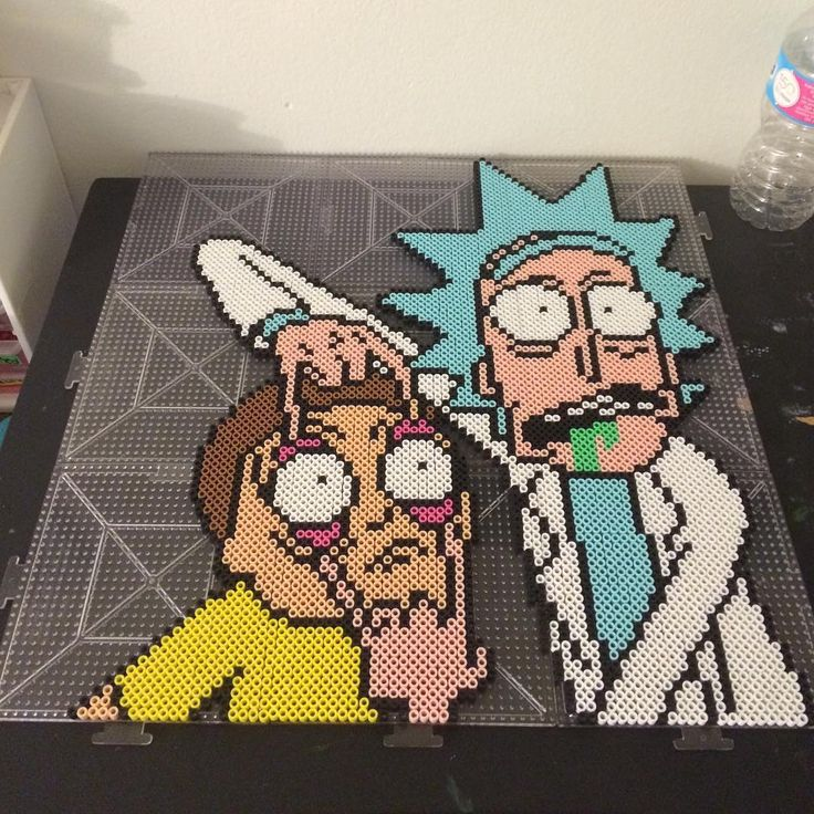 #Rick_And_Morty by perlerplayland