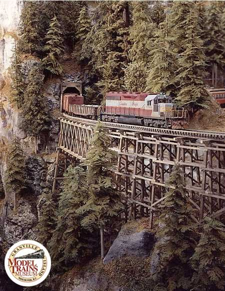 Awesome bridge!! model railroad layouts | Concept and Design Model Train Layout - Model Trains Museum