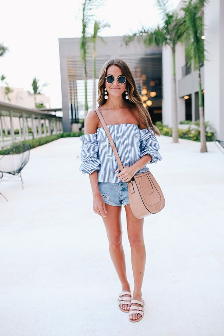 lauren sims revolve off the shoulder top