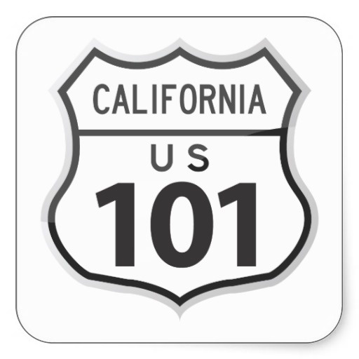 Best Highway Images On Pinterest California Road Trips - Us road map highway 101 california