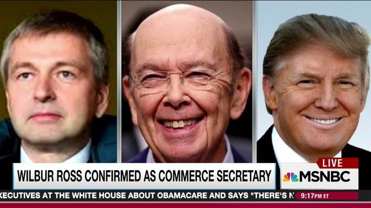 With a line that runs through newly confirmed Commerce Secretary Wilbur Ross, Rachel Maddow connects the dots between a billionaire Russian oligarch and a Donald Trump deal worth tens of millions of dollars.
