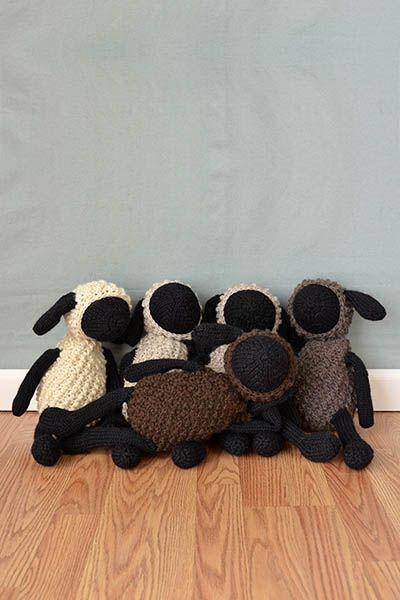 Free Universal Yarn Pattern : Sheldon Sheep and Friends