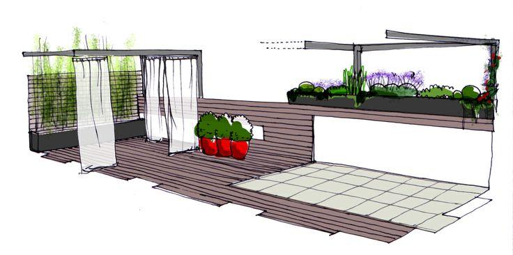 131 best dibujos croquis y planos de jardines images on for Paisajismo jardines