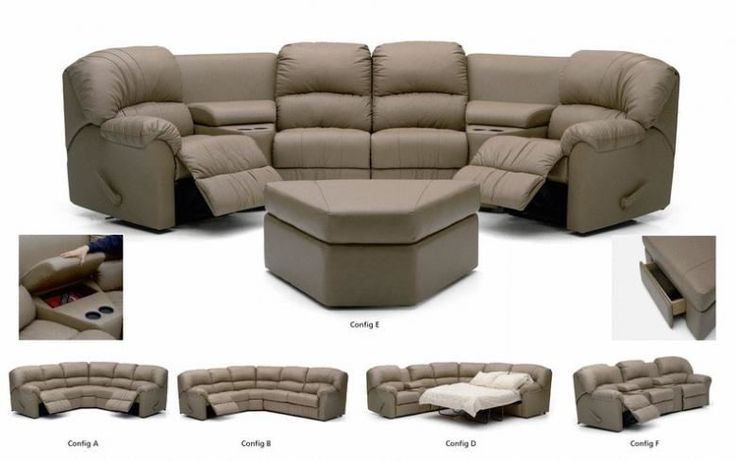 Pa Collection Callahan Leather Reclining Sectional Leather Furniture Expo Palliser Leather