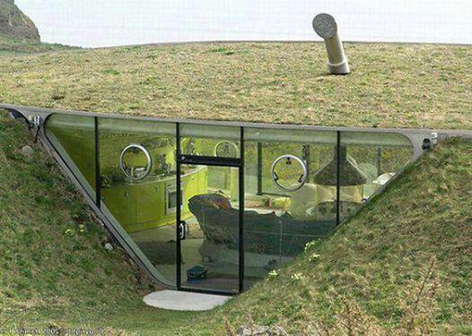 14 best Underground houses images on Pinterest Underground homes