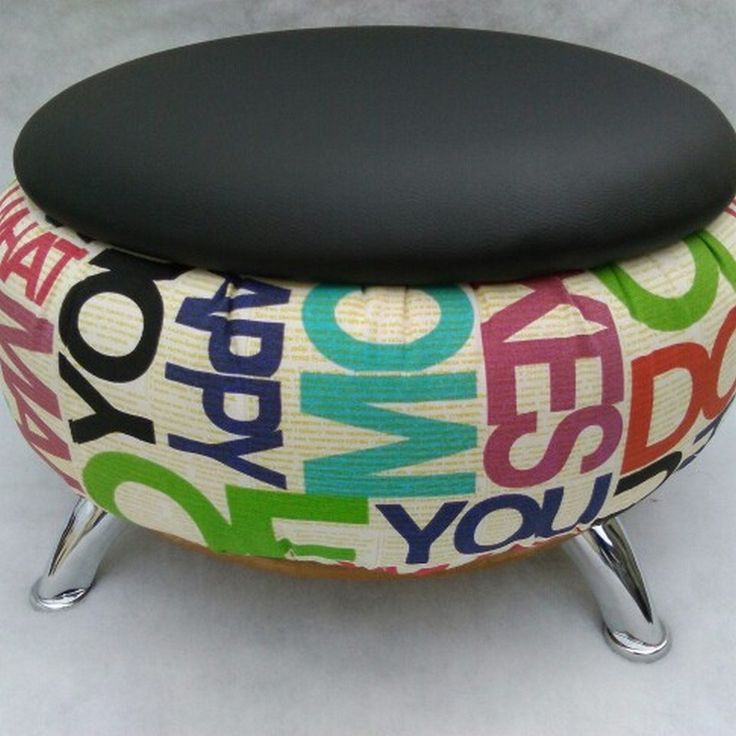 99 Ideas Chairs, Ottoman And Tables Made From Tires (42)