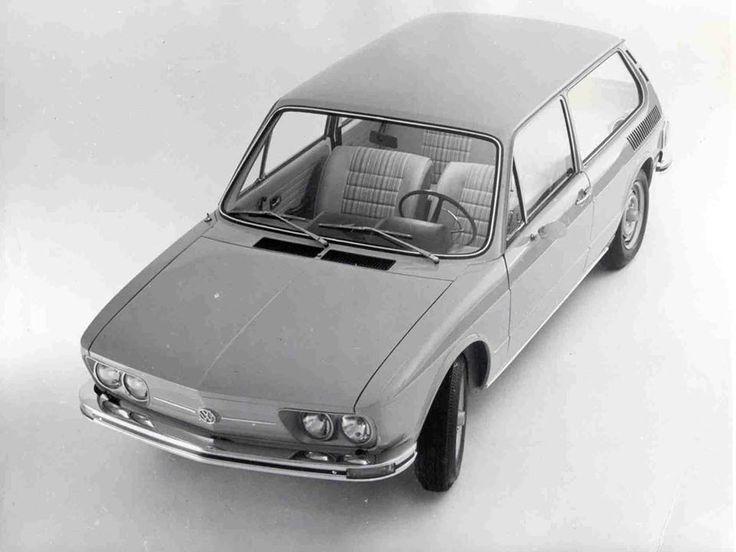 VW 1600 Brasilia Lançamento 1973