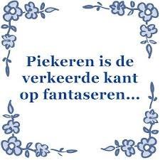 piekeren Tegeltjeswijsheid, wijsheden, spreuk, spreuken, gezegdes, tegeltjeswijsheden , citaten en hollandse uitspraken http://www.tegeltjeswijsheid.nl voor je unieke & gepersonaliseerde tegeltje of spreukbord over iedere kwestie