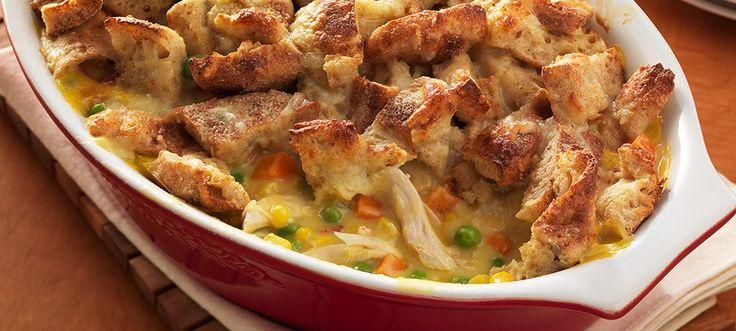 Cobblestone Chicken Pot Pie