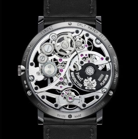 Montre automatique Piaget Altiplano Skeleton - Only Watch 2013