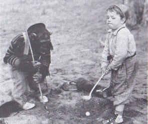 1936 - 'DIVOT DIGGERS'           Jiggs and SpankyGang Little Rascal, Rascal 1922 44, Ganglittl Rascal